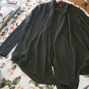 Rue21 grey cardigan w/ hoodie